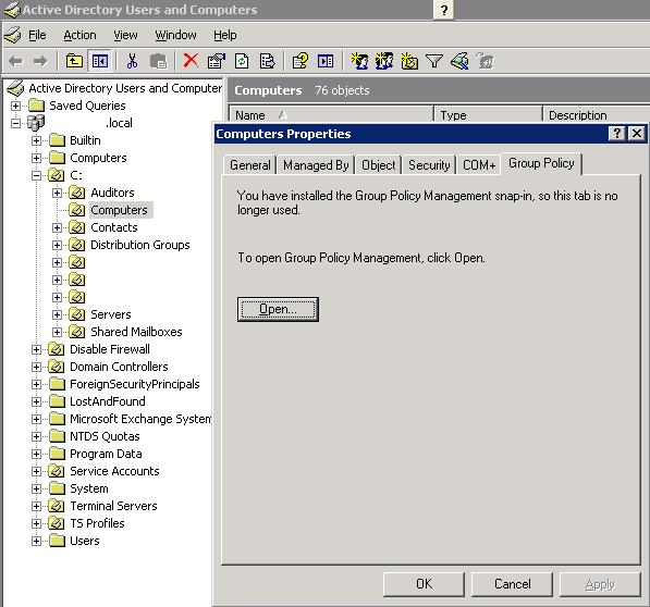 Set Primary Group Active Directory 100