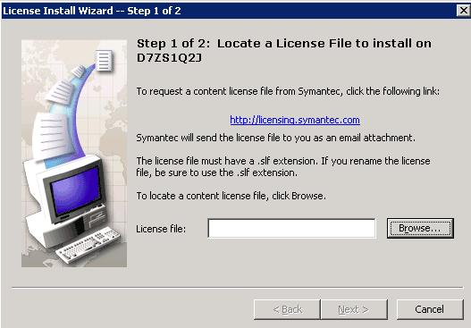 install-licensefile