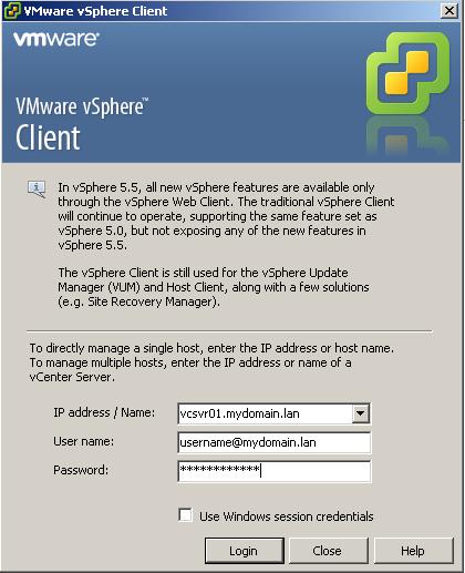 vsphere-client-55-login-example