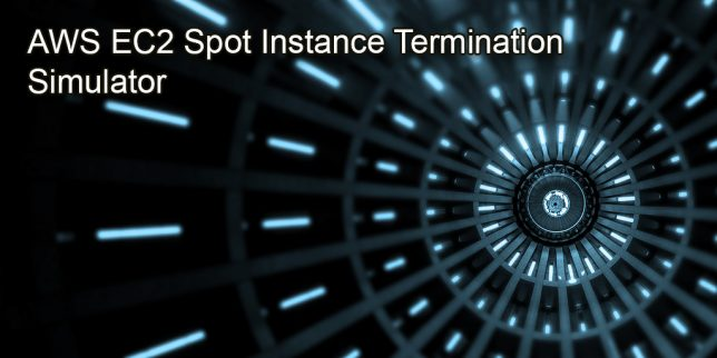 featured image for aws ec2 spot instance termination simulator blog post