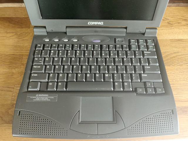 compaq armada pentium laptop