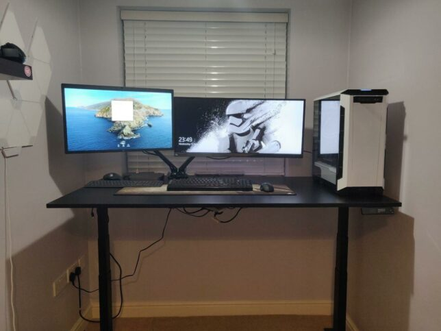 first test of the jarvis standing desk