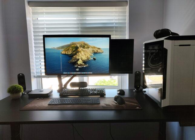 Jarvis standing desk setup