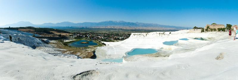 Pamukkale Panoramic view