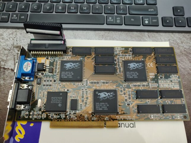 3dfx voodoo 2 3d accelerator card
